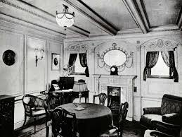 titanic first class dining room life onboard photos fire and ice