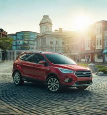 2017 ford escape suv features ford com