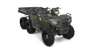 polaris introduces new sportsman 6x6 big boss 570 eps atv
