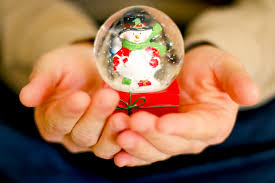 free stock photo of christmas gift snowglobe