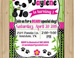 Panda Baby Shower Invitations - a set of felt panda party favor felt panda baby shower favor