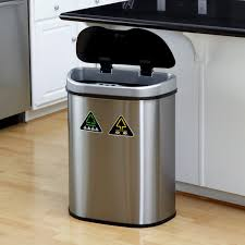 ideas how many gallons is a kitchen trash can trash bag sizes