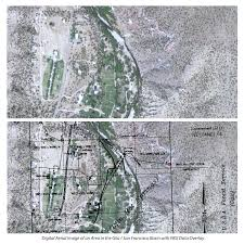 Unm Campus Map Office Of The State Engineer Historic Map Georectification Earth