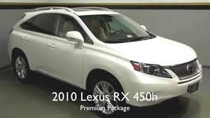 lexus sc430 for sale virginia 2010 lexus rx 450h premium package in richmond va l150411a youtube