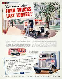 Vintage Ford Truck Art - vintage advertising art tagged