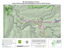 Map Of Montana Highways by Mt Hood National Forest Recreation