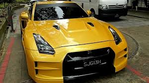 nissan singapore nissan gtr r35 with an extraordinary wide body kit youtube
