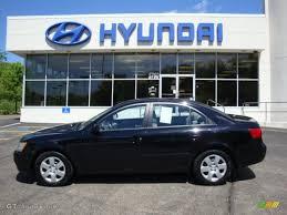 2009 hyundai sonata colors 2009 black hyundai sonata gls 29599814 gtcarlot com car