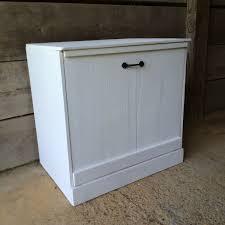kitchen trash can storage cabinet double tilt out trash can cabinet plans bin double tilt out