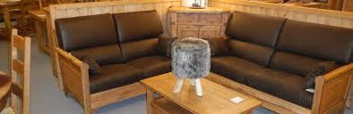 canapé convertible style montagne aravis meubles mobilier alpin meubles tendances literie et