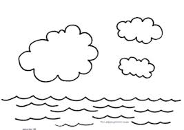 coloring pages water safety water coloring pages days of creation water cycle coloring pages