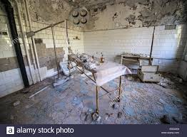 operating room in no 126 hospital in pripyat ghost town