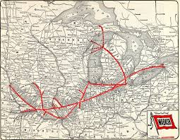 Illinois Railroad Map by Wabash Railroad Wikiwand