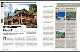 log home living mag march 2016 bc feature big canoe