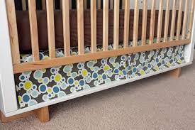 Crib Bed Skirt Diy Diy Box Pleat Crib Skirt
