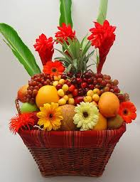 fruit and flowers elite fruit and flower arrangement in metuchen nj gardenias floral