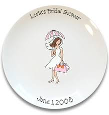 bridal shower plate to sign bridal shower girl signature platter by serendipitycrafts