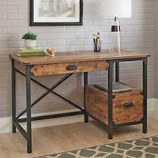 Industrial Writing Desk by Rustic Desk Ebay