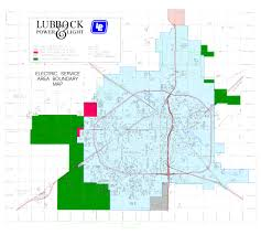 lubbock on map service map lp l