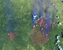 Oregon Forest Fires Map by Wildfire The Why Files