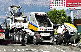 tipped cement truck slows traffic in south ogden gephardt daily