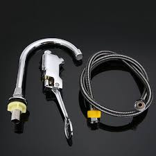 Kitchen Faucet Foot Pedal Aliexpress Com Buy Mayitr Bathroom Foot Pedal Faucet Single