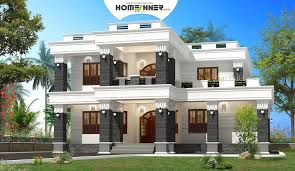 Home Design Box Type Modern Spacious Box House Design In 2920 Sq Ft Indian Home