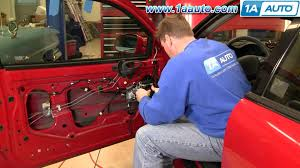 how to install replace power window regulator pontiac grand am