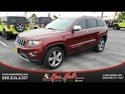 mac haik dodge chrysler jeep ram houston tx pre owned 2016 jeep grand limi sport utility in houston
