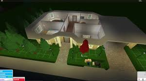 One Floor Houses Roblox Bloxburg 50k House Tutorial Youtube
