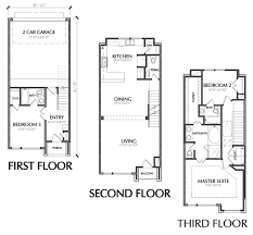Small Townhouse Floor Plans For Sale Small Town Home Plans