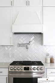 Kenmore Pro Cooktop Knobs White Kitchen Reveal Modern Farmhouse Before And After Photos