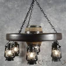 wagon wheel ceiling fan light best tier lantern wagon wheel chandelier wagon wheel chandeliers