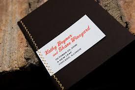 Booklet Wedding Programs Double Zigzag Sewn Wedding Program Booklet Merriment Design