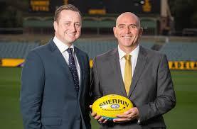 audi australia ceo audi and hawthorn football sign three year deal