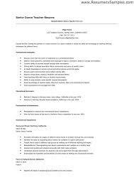 teacher resume example teacher resume template for ms word