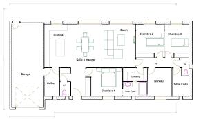 plan de maison 120m2 4 chambres maison plain pied 120m2 con plan maison 120m2 4 chambres gratuit e