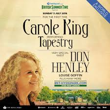don henley to perform with carole king in hyde park don henley
