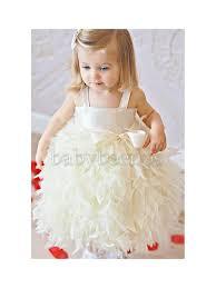 flower dress flower dress feather dress ivory dress