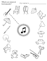 instrument worksheets for kids batons stucco printables