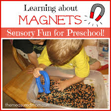 learning about magnets for preschoolers sensory fun for the