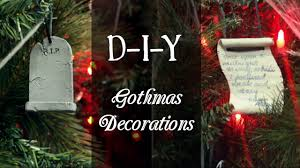 diy gothmas decorations a gothic christmas darkling christmas