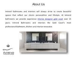 Interior Designers Gold Coast Best Interior Designer In Gold Coast Intrend Bathrooms And Interiors