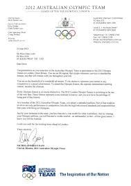 appreciation letter to chef it u0027s official we going to the games official letter