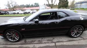 Dodge Challenger All Black - 2015 dodge challenger srt8 392 pitch black fh764390 redmond