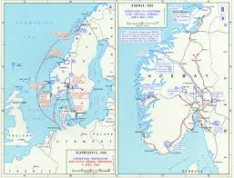 Ww2 Europe Map Map Of Norway During World War Ii