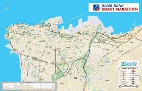 Beirut On Map Beirut Marathon 2016 Papas Marathon Seite Osnabrück Marathon