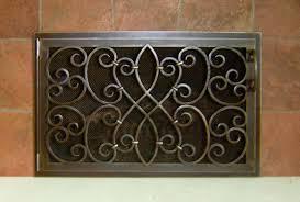 iron fireplace doors binhminh decoration