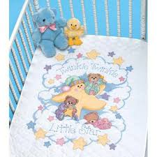 dimensions twinkle twinkle baby quilt sted cross stitch