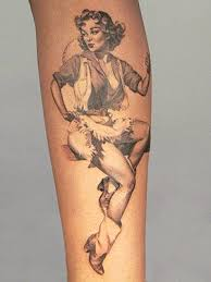 pinup tattoo meanings custom tattoo design